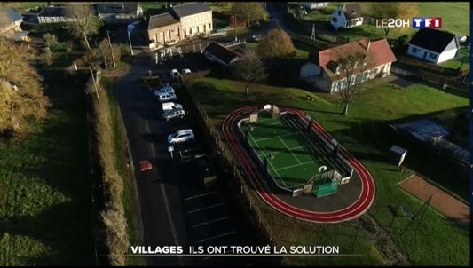 Villages : Ils ont trouvé la solution (extrait du journal télévisé TF1 – Le 20h)