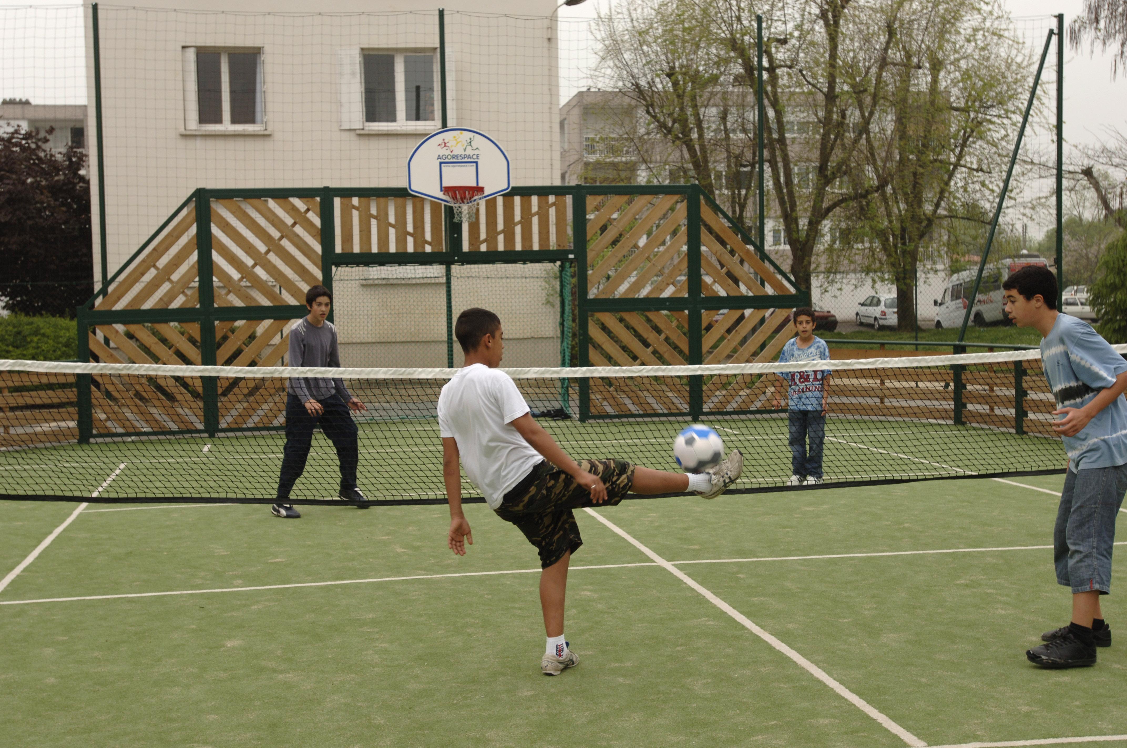 Tennis-ballon-futnet