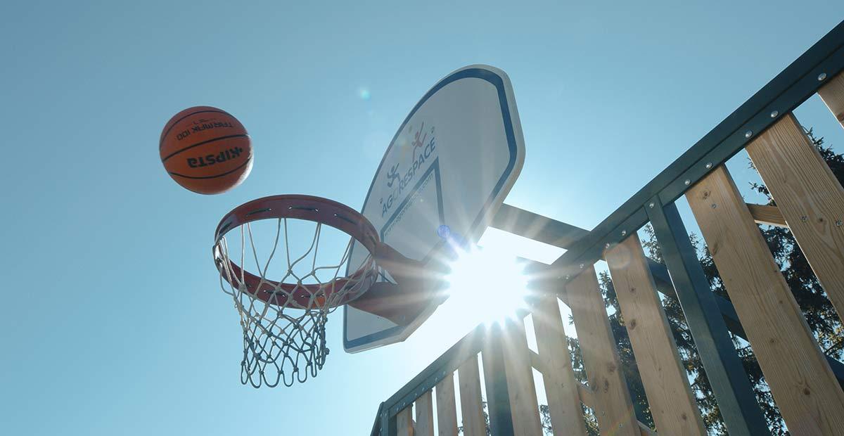 panneau de basket agorespace
